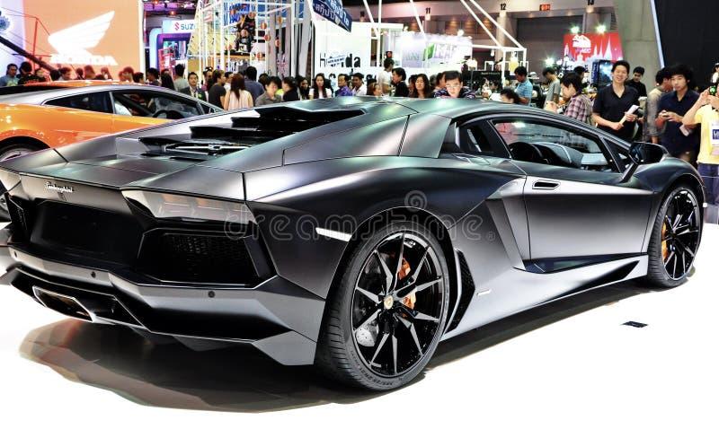 Lamborghini Reventón at International Motorshow stock images