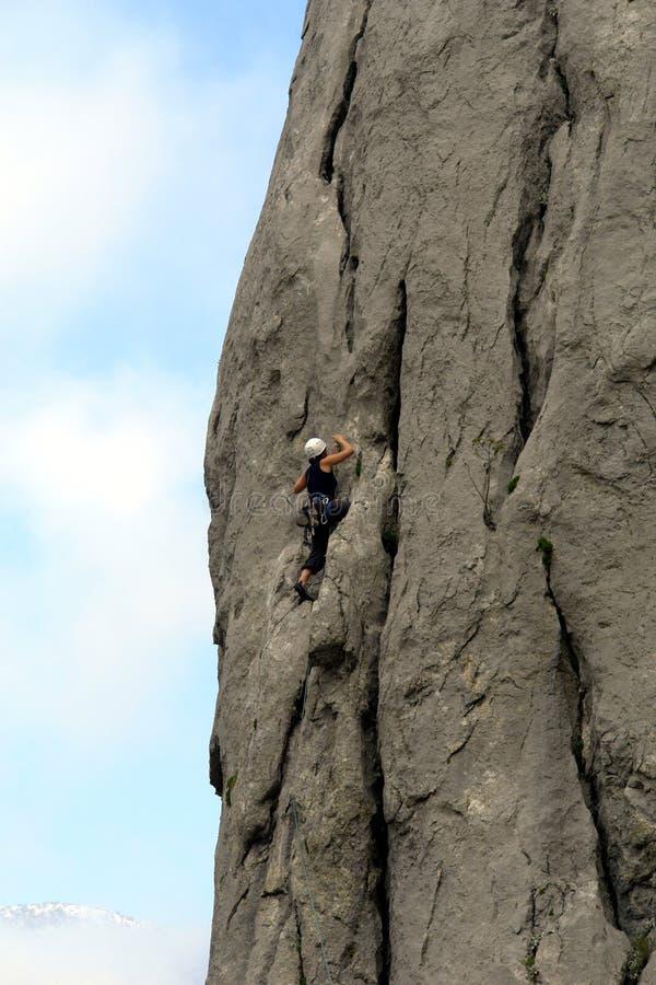paklenica ορειβατών στοκ εικόνα