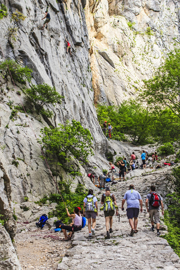 Free Paklenica National Park Royalty Free Stock Photography - 38512717