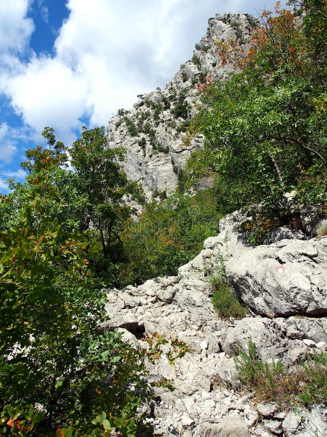 Download Paklenica National Park stock image. Image of geology - 34192275