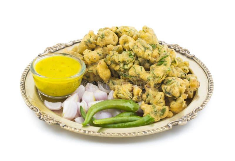 Pakora eller Bhajiya royaltyfri foto