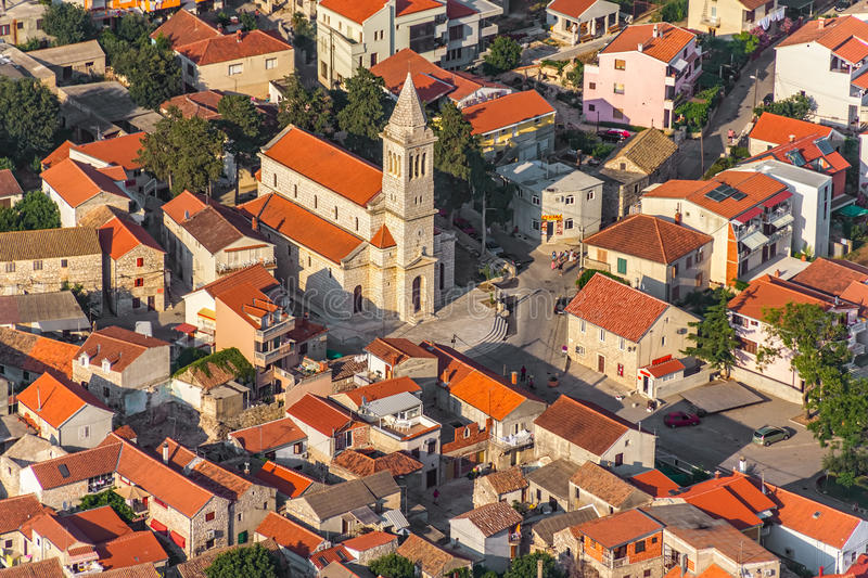 Download Pakostane Aerial Stock Photography - Image: 27853492