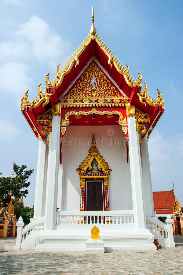 Pakthongchai tailandese del watklang del tempio immagine stock