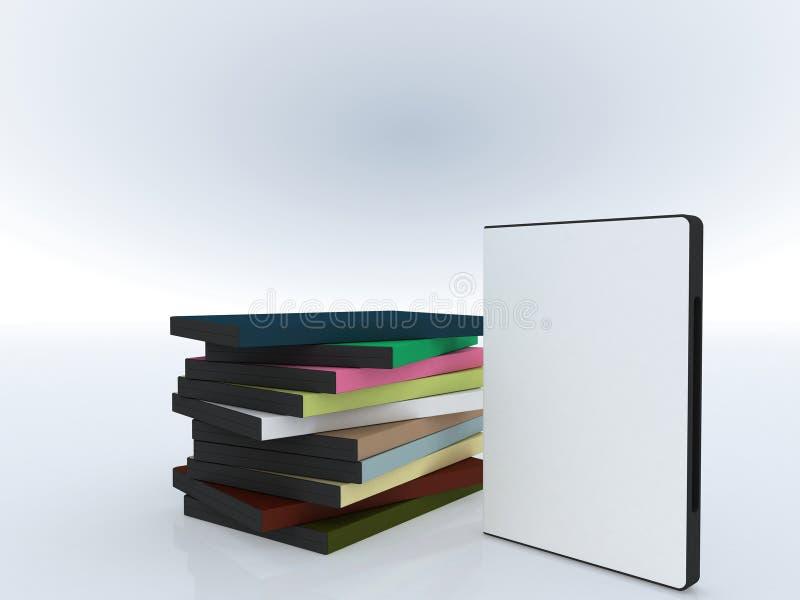 pakuj dvd prezentacji oprogramowania ilustracja wektor