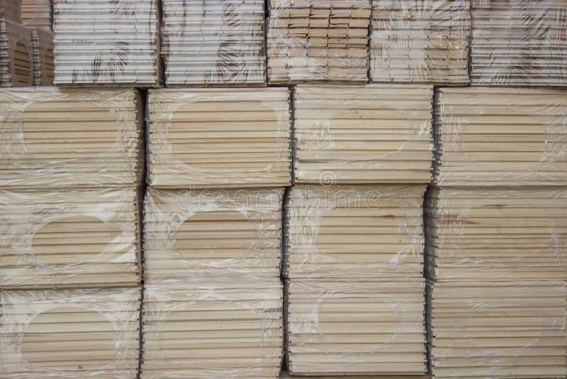 Pakunek Bukowego drewna profile obraz stock