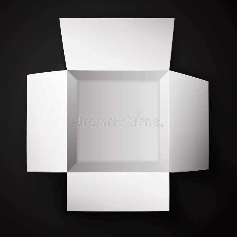 Pakunku pudełko Otwierający ilustracji