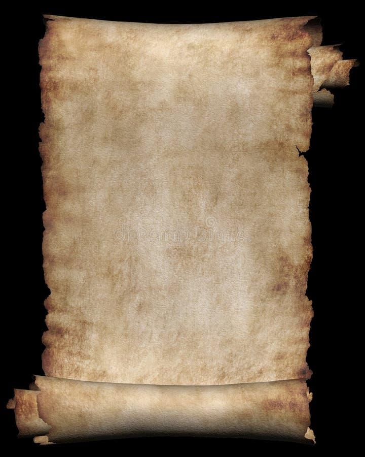 pakunku stary papier royalty ilustracja