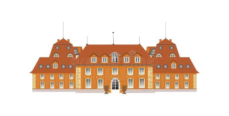 Palácio,   ilustração royalty free