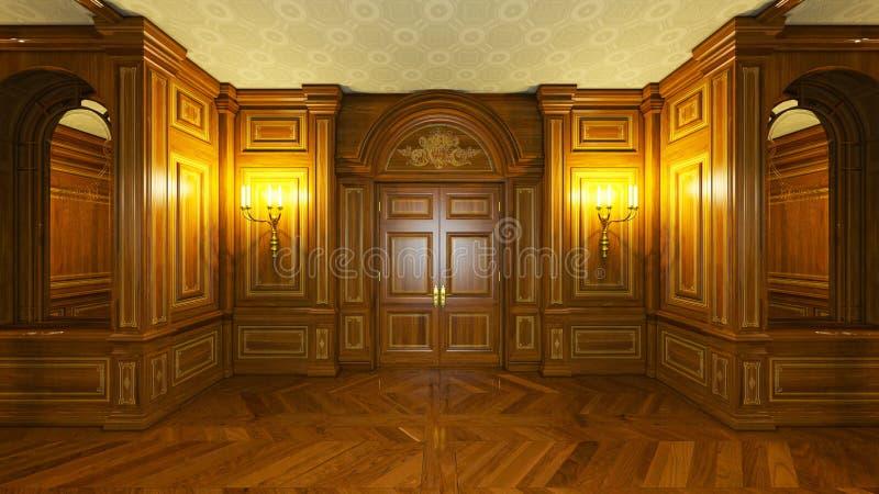 Palácio ilustração stock