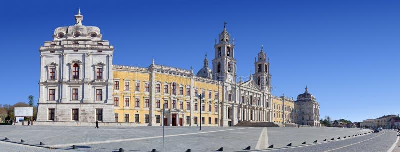 Palácio, convento e basílica nacionais de Mafra imagens de stock royalty free