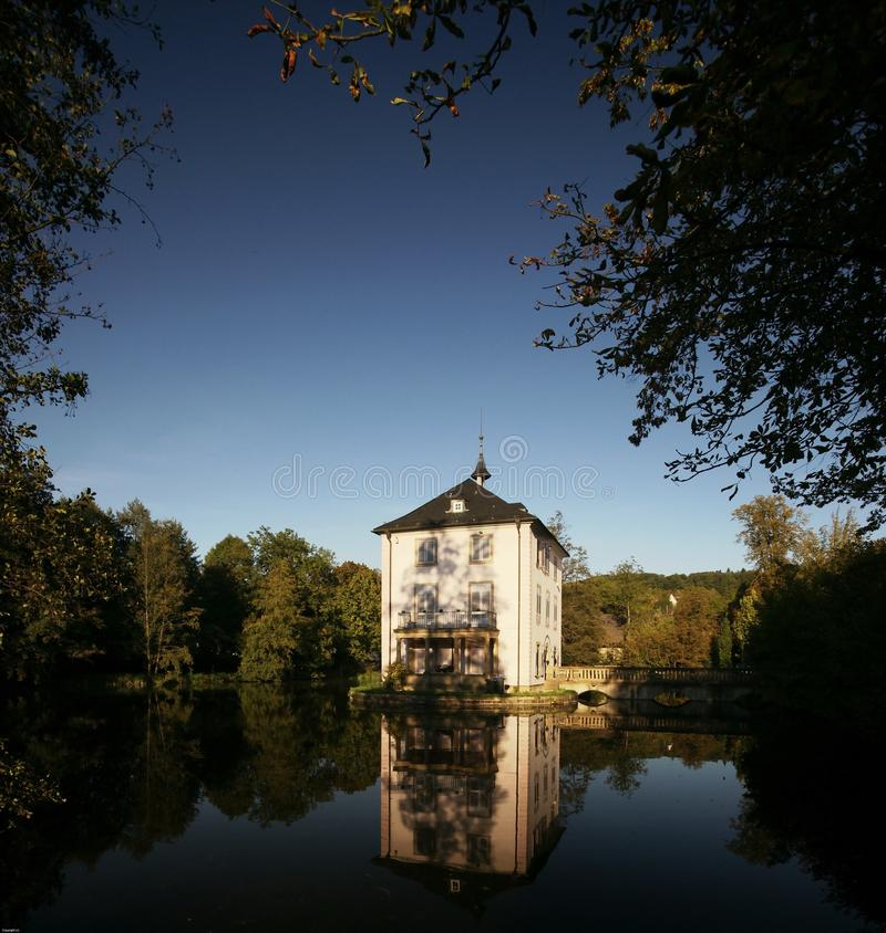 Palácio da água imagens de stock