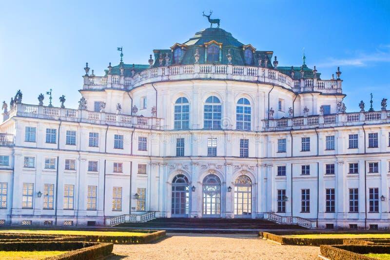 Palácio da caça de Stupinigi, Turin, Piedmont, Itália fotos de stock royalty free
