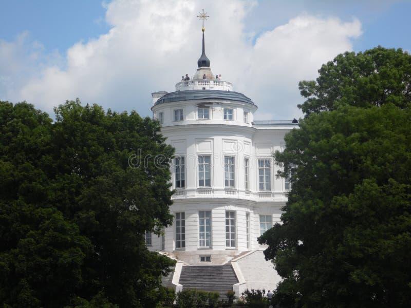 Palácio da contagem Bobrinsky em Bogoroditsk fotos de stock royalty free