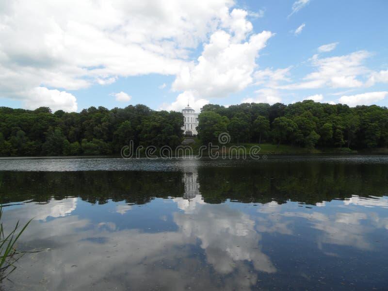 Palácio da contagem Bobrinsky em Bogoroditsk imagens de stock royalty free