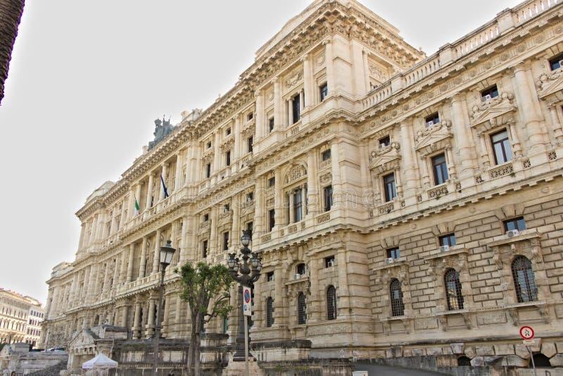 Palácio da corte de cassação imagens de stock royalty free