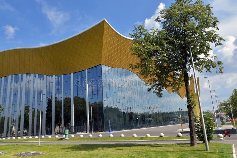 Palácio da ginástica de Irina Winer-Usmanova em Moscou fotografia de stock