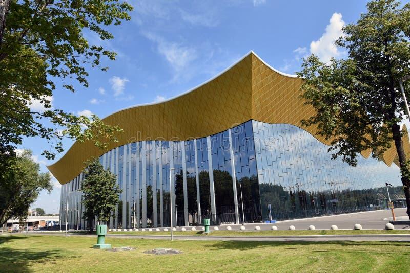 Palácio da ginástica de Irina Winer-Usmanova em Moscou imagem de stock