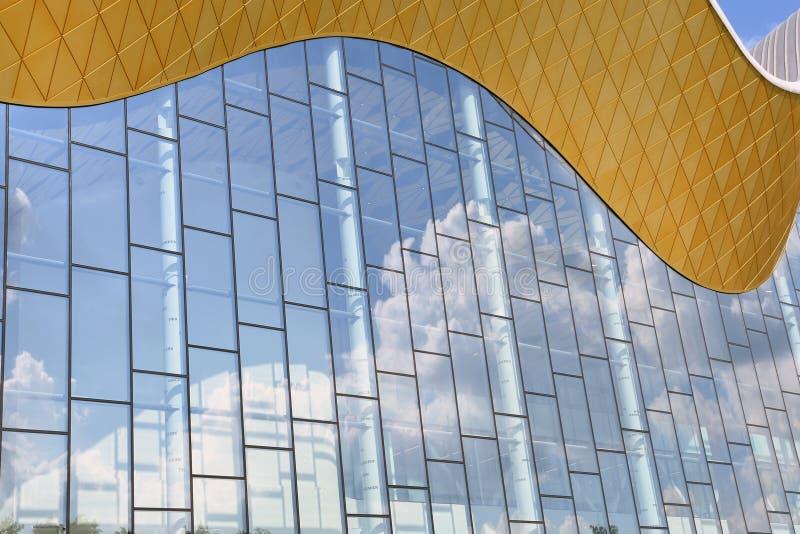 Palácio da ginástica de Irina Winer-Usmanova em Moscou foto de stock