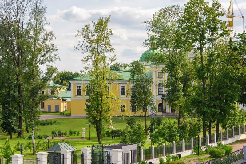 Palácio da Imperatriz Catherine, a Grande da cidade de Tver fotografia de stock