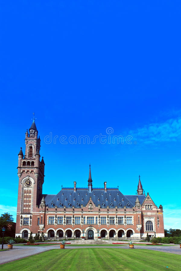 Palácio da paz imagem de stock royalty free