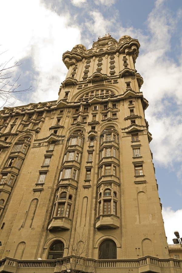 Palácio da salva, Uruguai. fotografia de stock royalty free