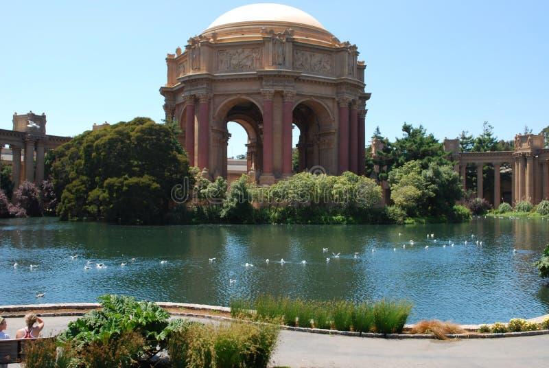 Palácio das belas artes: San Francisco fotos de stock royalty free
