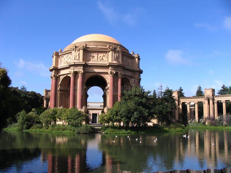 Palácio das belas artes, San Francisco foto de stock