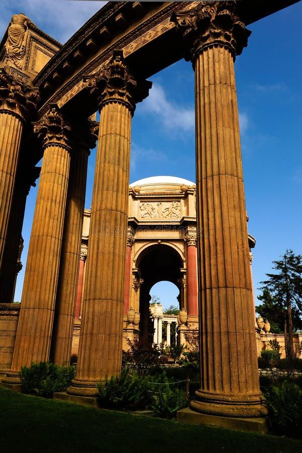 Palácio das belas artes San Francisco fotos de stock