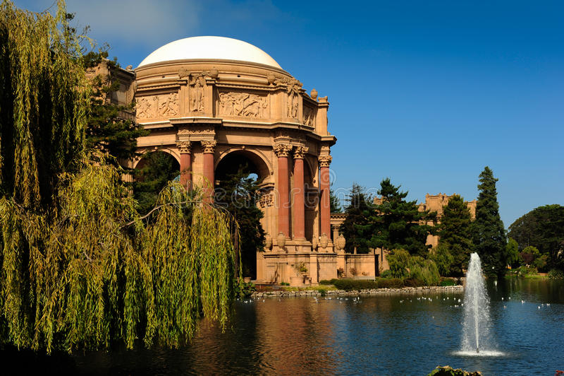Palácio das belas artes San Francisco foto de stock royalty free