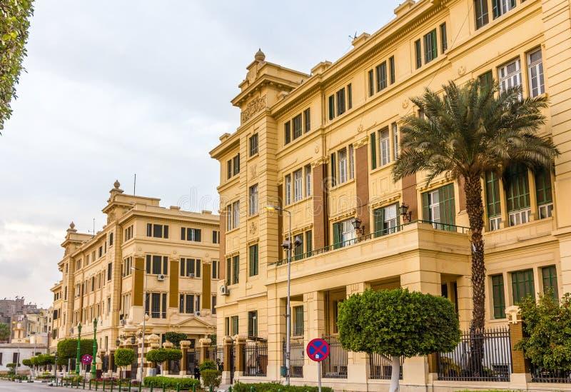 Palácio de Abdeen, uma residência do presidente de Egito fotografia de stock royalty free