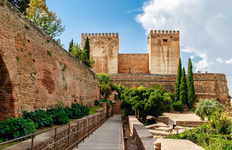 Palácio de Alhambra, Granada, Spain foto de stock royalty free