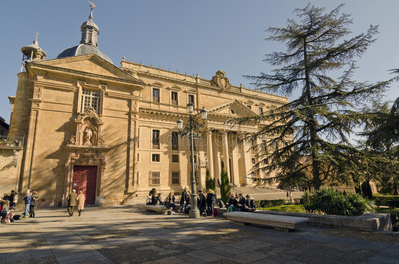 Palácio de Anaya, estudantes fotos de stock