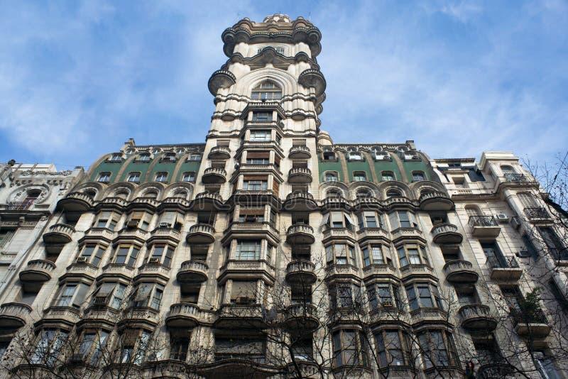 Palácio de Barolo em Buenos Aires, Argentina fotos de stock