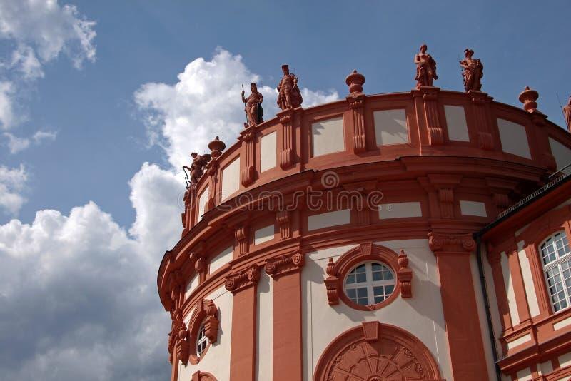 Palácio de Biebrich imagem de stock royalty free