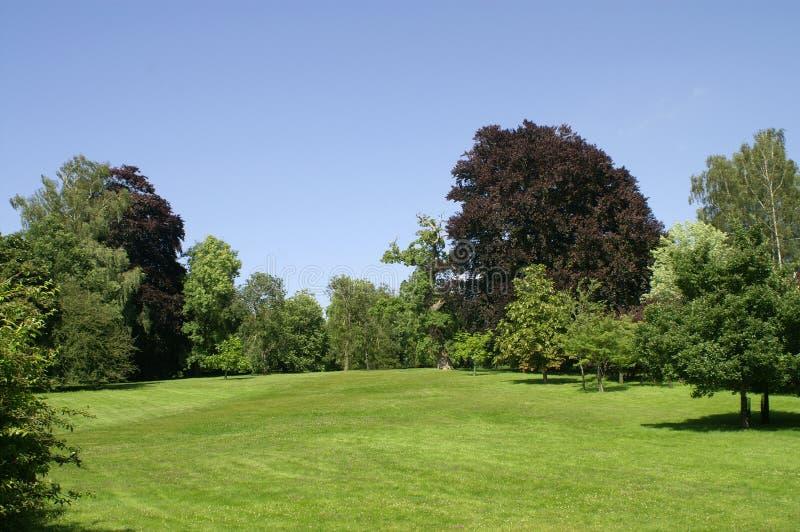 Palácio de Blenheim. Jardim. imagem de stock royalty free