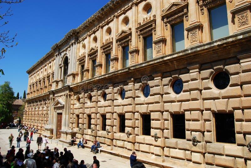 Palácio de Carlos V, Granada foto de stock royalty free
