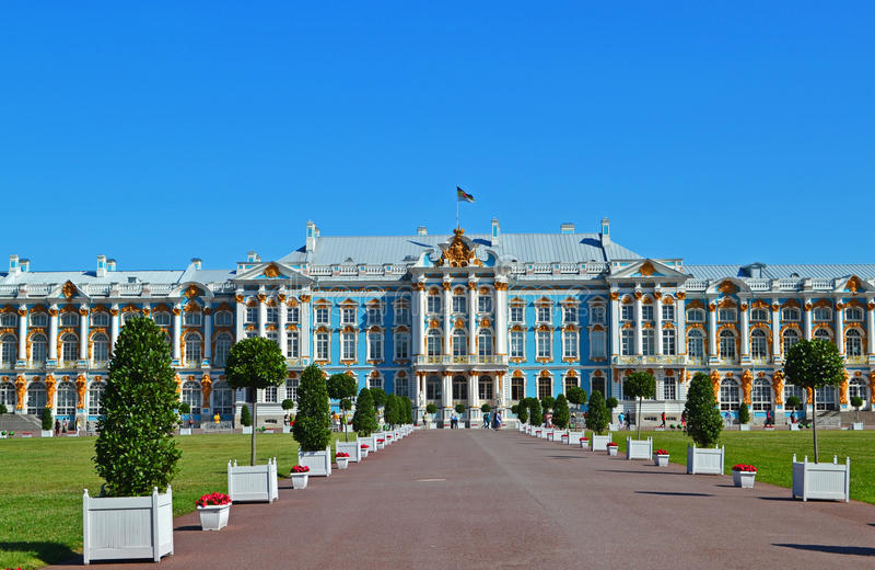 Palácio de Catherine imagem de stock royalty free