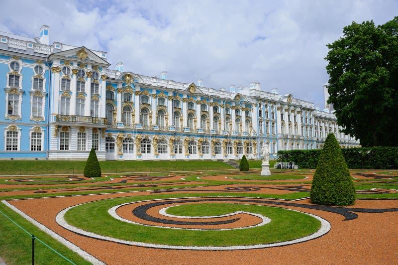 Palácio de Catherine em Pushkin imagem de stock