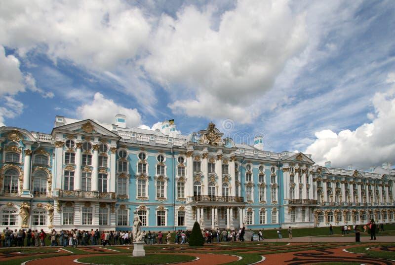 Palácio de Catherine em Tsarskoye Selo, Rússia fotos de stock