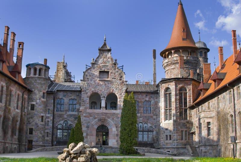 Palácio de Cesvaine fotos de stock