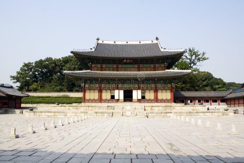 Palácio de Chang Dok Gung fotos de stock