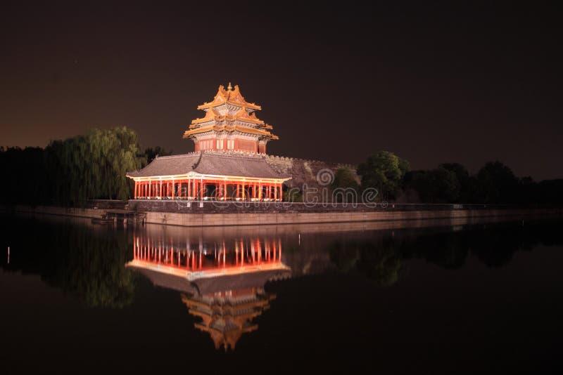 Palácio de China imagem de stock royalty free