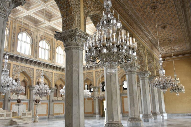 Palácio de Chowmahalla, Hyderabad, Índia foto de stock royalty free