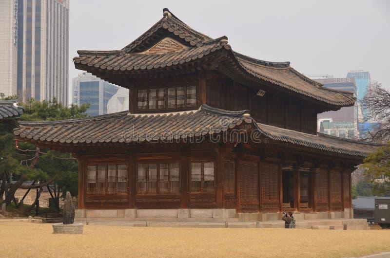 Palácio de Deoksugung imagens de stock
