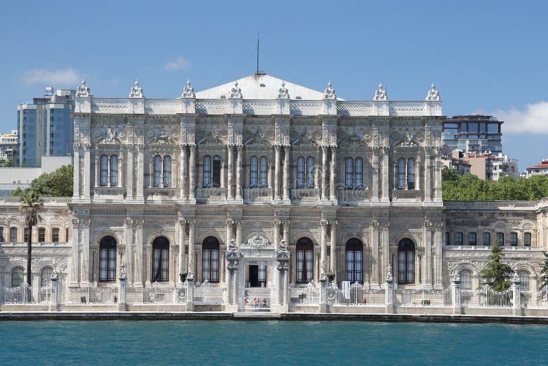 Palácio de Dolmabahce em Istambul, Turquia imagens de stock royalty free