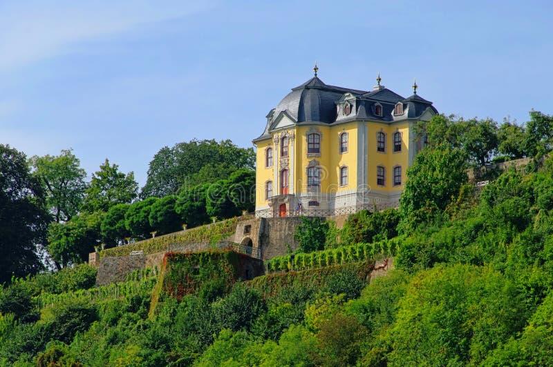 Palácio de Dornburger fotos de stock royalty free