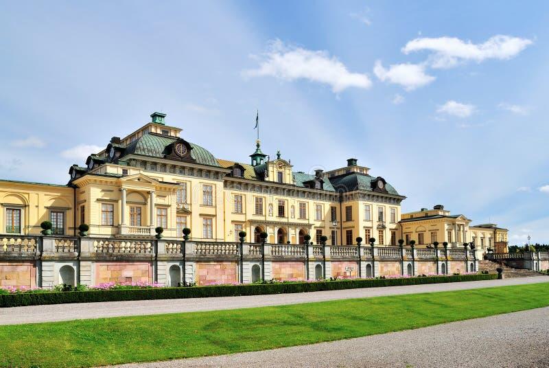Palácio de Drottningholm imagem de stock royalty free