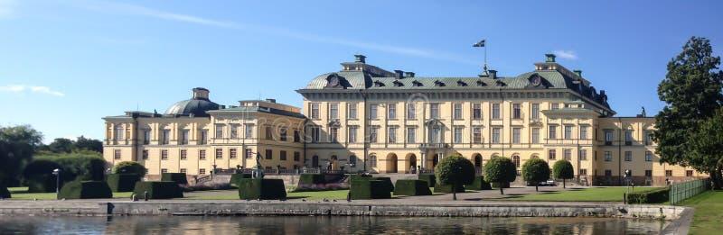 Palácio de Drottningholm fotos de stock royalty free