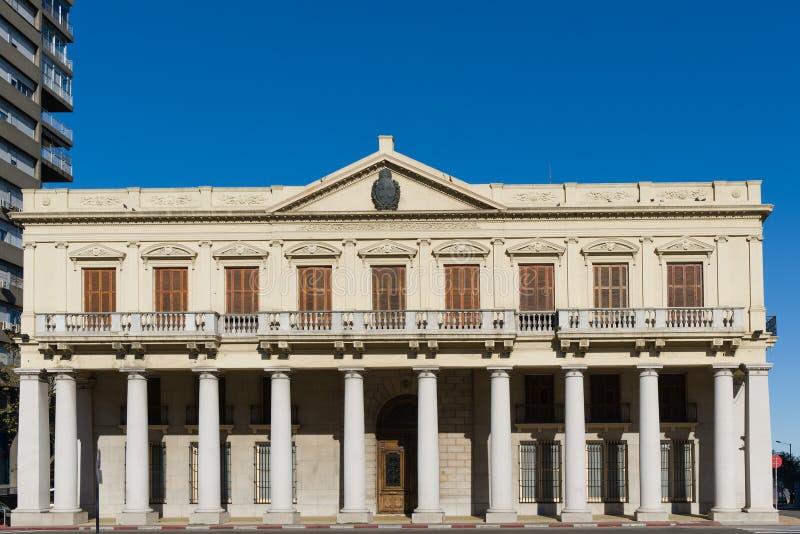 Palácio de Estévez em Montevideo, Uruguai fotos de stock royalty free