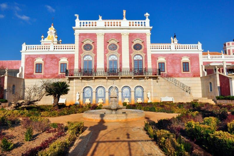 Palácio de Estoi em Estoi, Portugal imagem de stock royalty free
